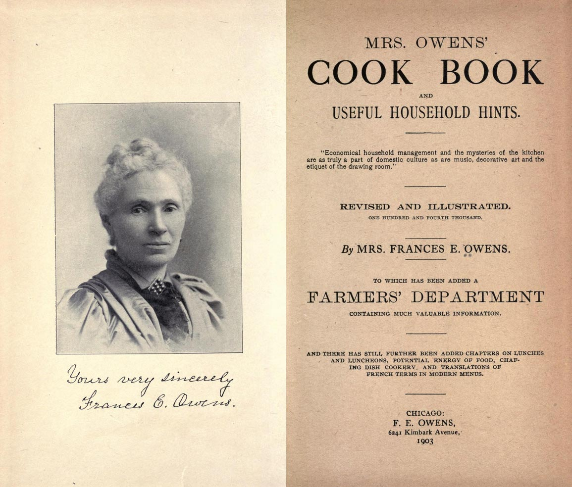 Mrs. Owens' Cookbook