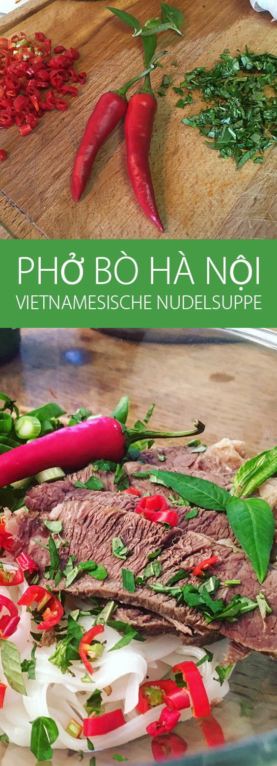 Pho Bo Hanoi - Vietnamesische Nudelsuppe