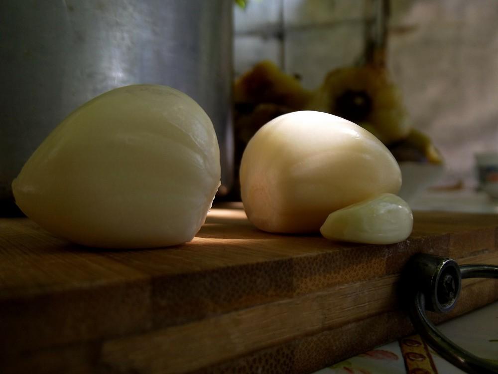 Basilikum Pesto - Knoblauch