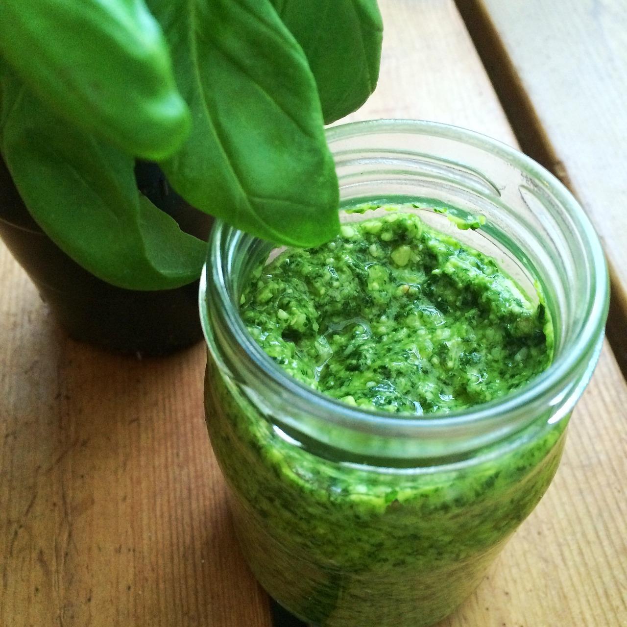 Rezept für Basilikum Pesto