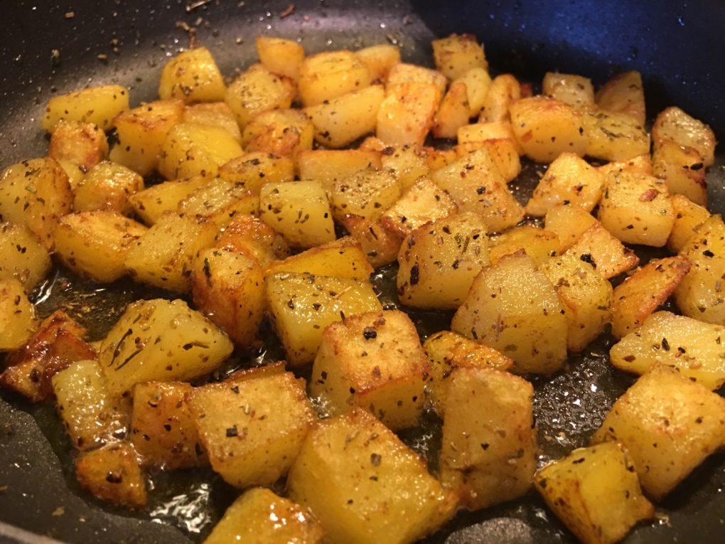 Bratkartoffelwürfel Rezept