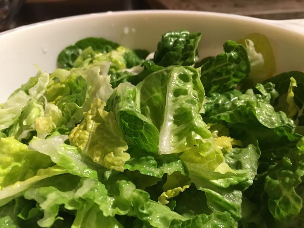 Salatherzen Salat Zubereitung