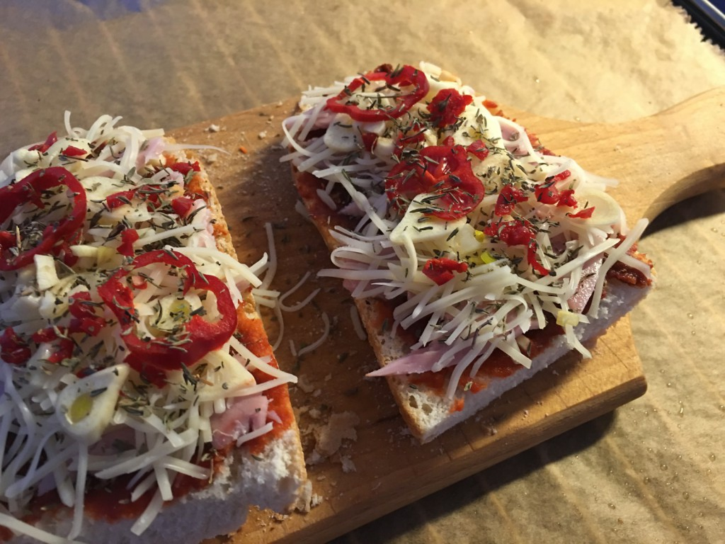Pizza Baguette Vegetarisch