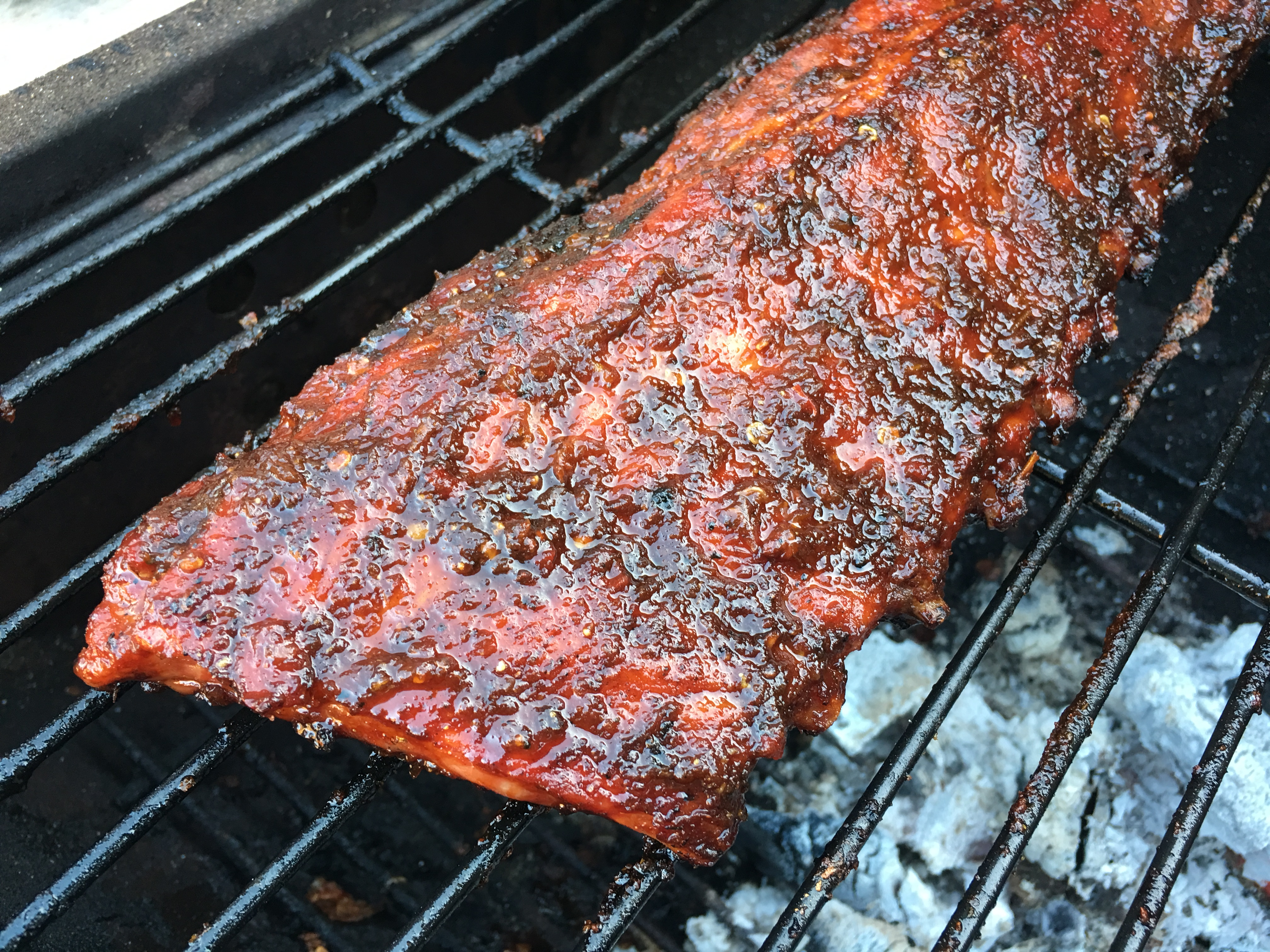 Grille Spareribs På Gasgrill : Spareribs mit chili bbq marinade rezept chilirezept