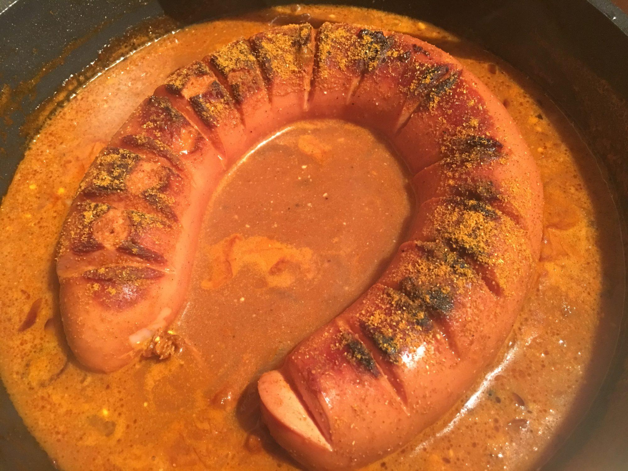 Currywurst selbst machen