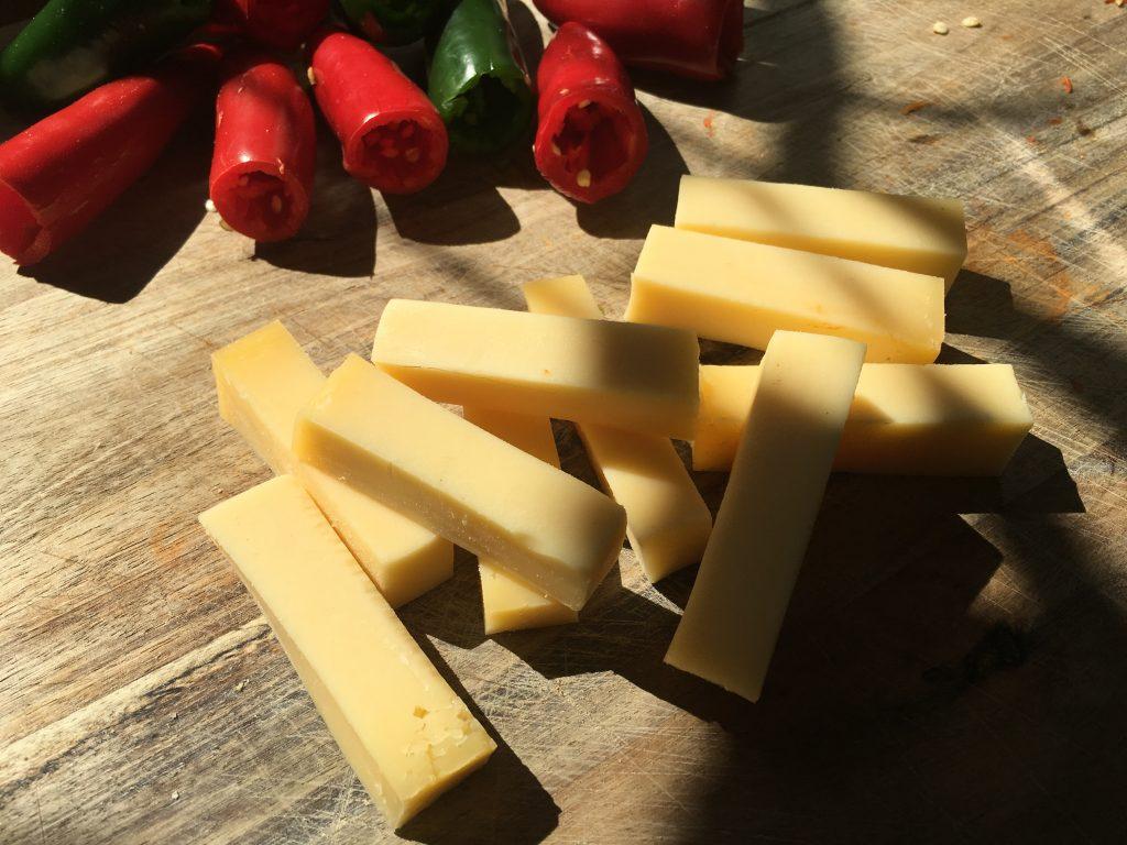 Käse gefüllte Jalapeños