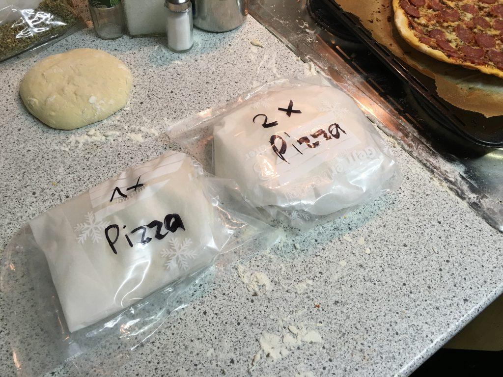 Pizzateig einfrieren
