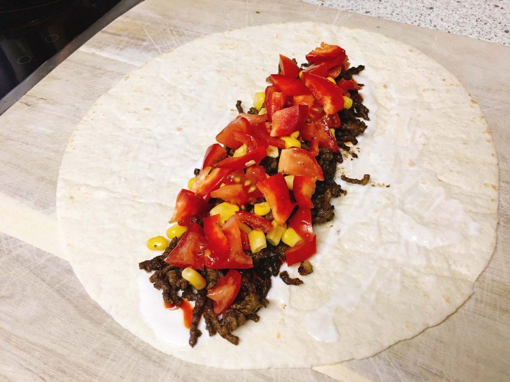 Tomaten Wrap