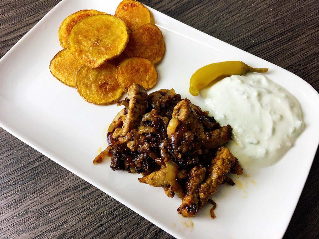 Griechische Knoblauch Kartoffeln Rezept
