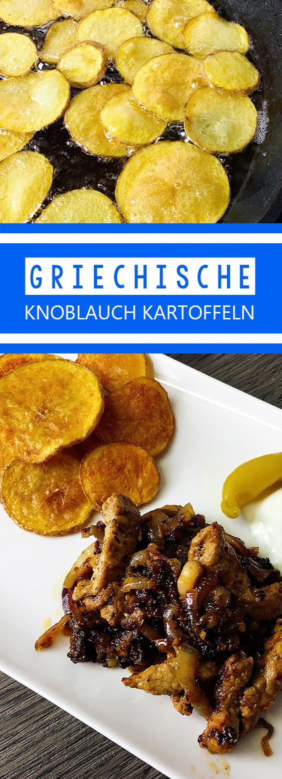 Griechische Knoblauchkartoffeln Rezept
