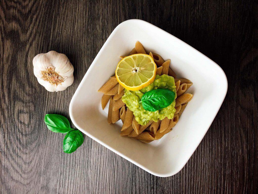 Avocado Pesto Pasta Rezept