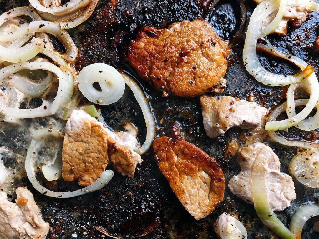 Bier Marinade Schweinefleisch Raclette