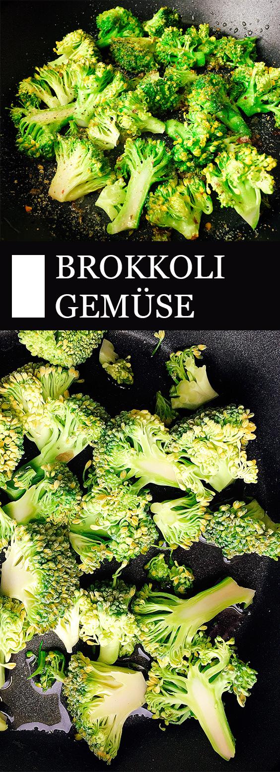 Brokkoli Gemüse Rezept