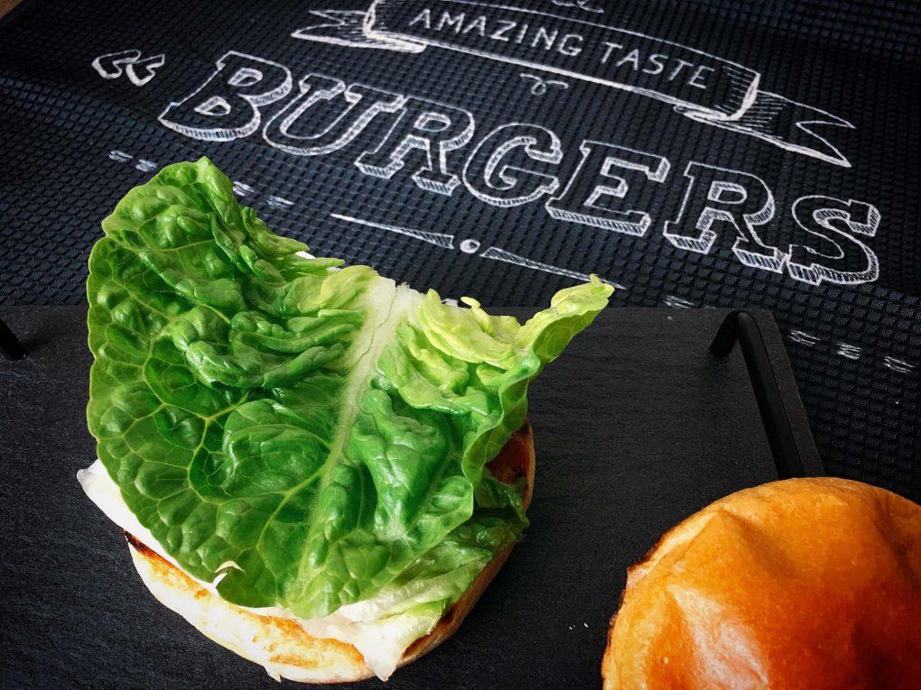 Burger Salat