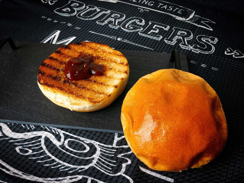 Burger mit BBQ Sauce