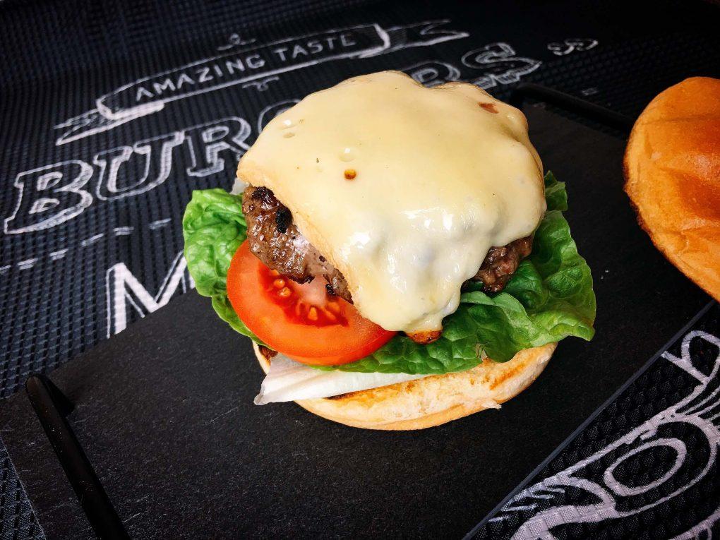 Cheeseburger Belag