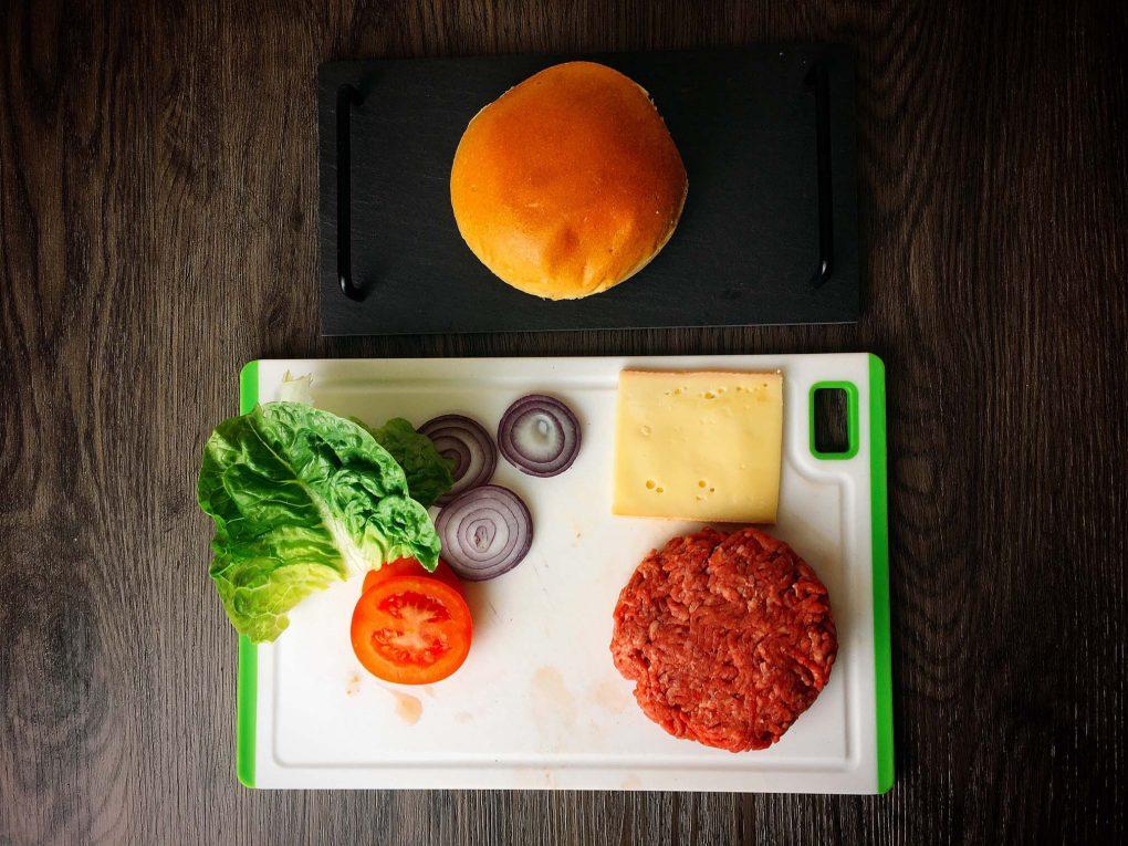 Cheeseburger Zutaten