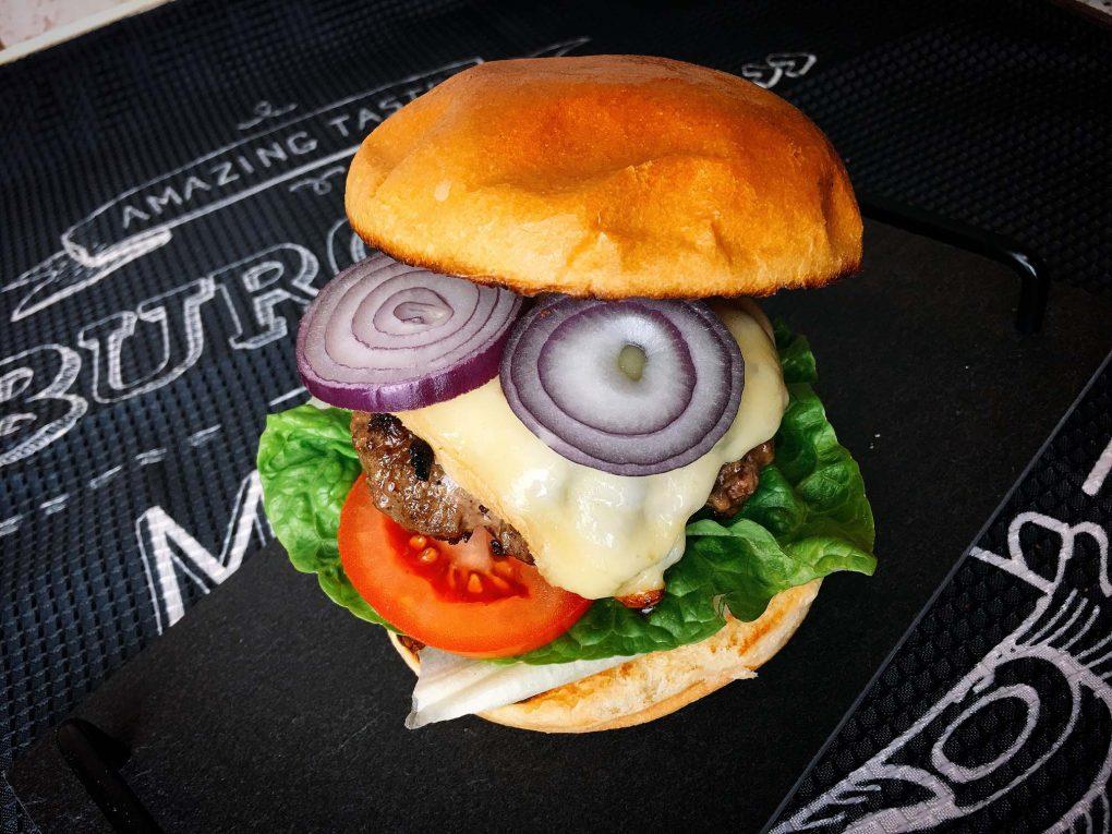 Cheeseburger selber machen