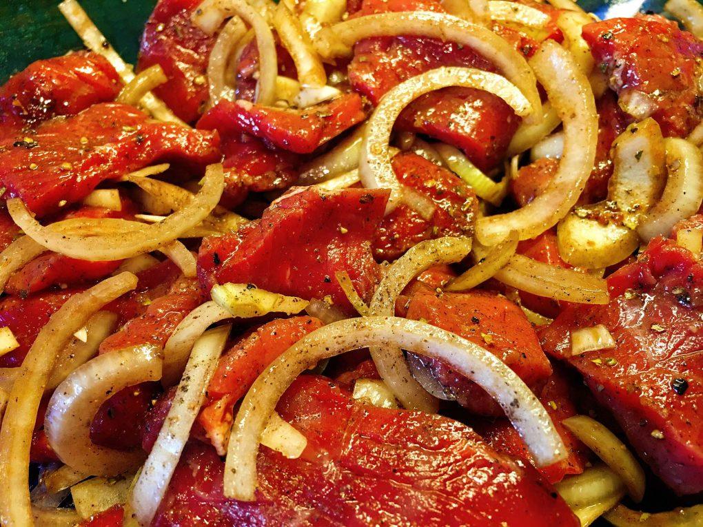 Rindfleisch Marinade