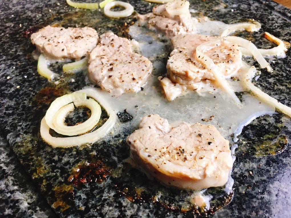 Schweinefilet vom Raclette