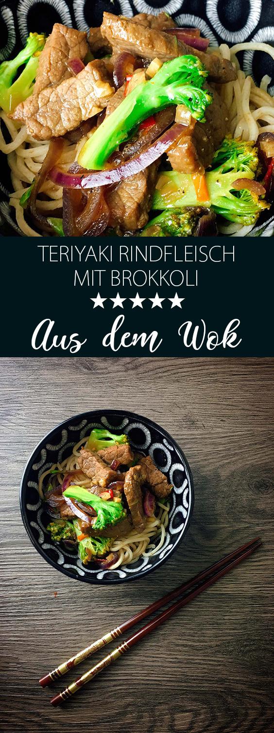 Teriyaki Rindfleisch mit Brokkoli Rezept