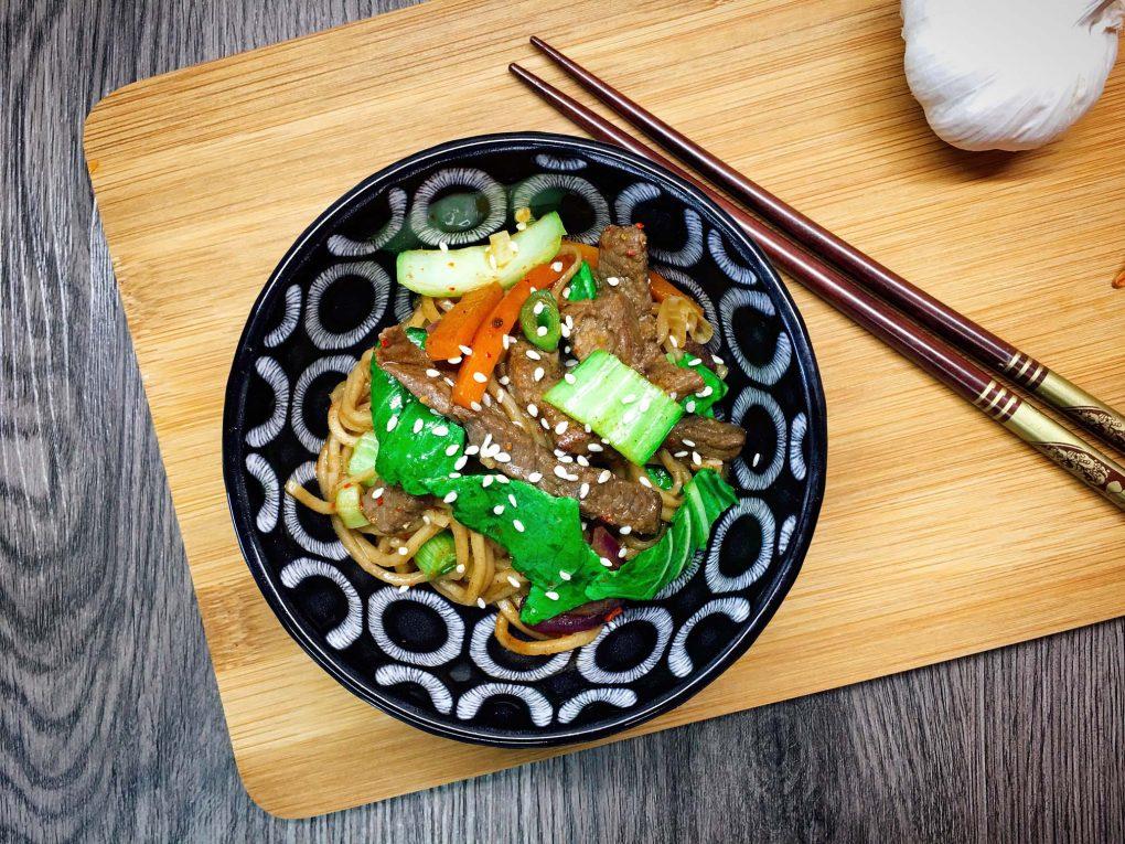 Asiatische Wok Pfanne