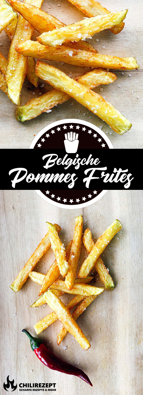 Belgische Pommes Frites selber machen