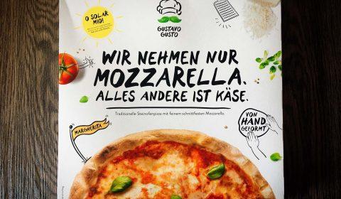 Gustavo Gusto Pizza Margherita Produkttest