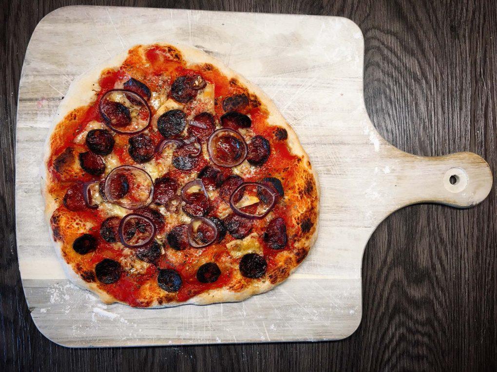 Pizza Salsiccia Rezept