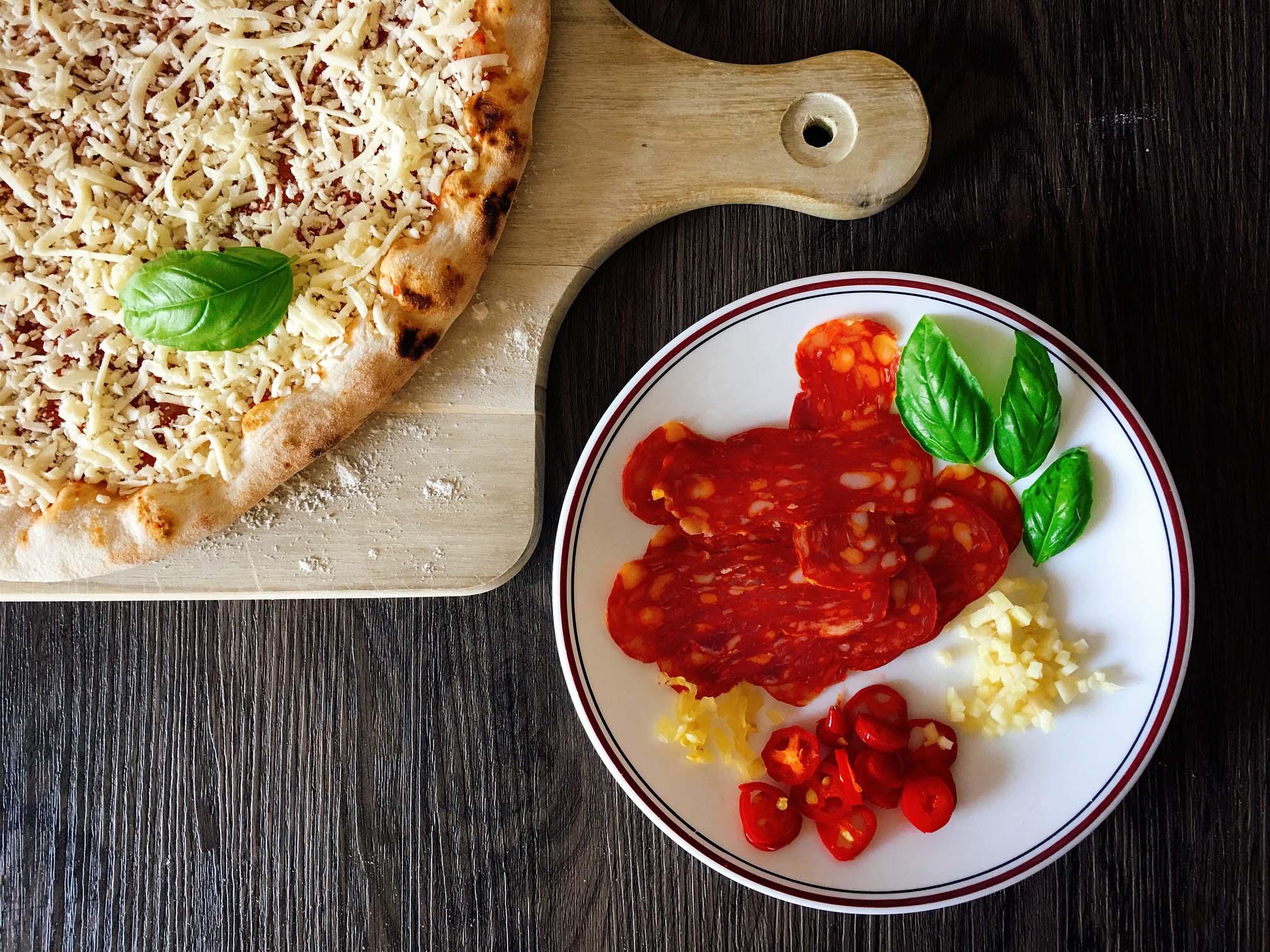 Pizza verfeinern