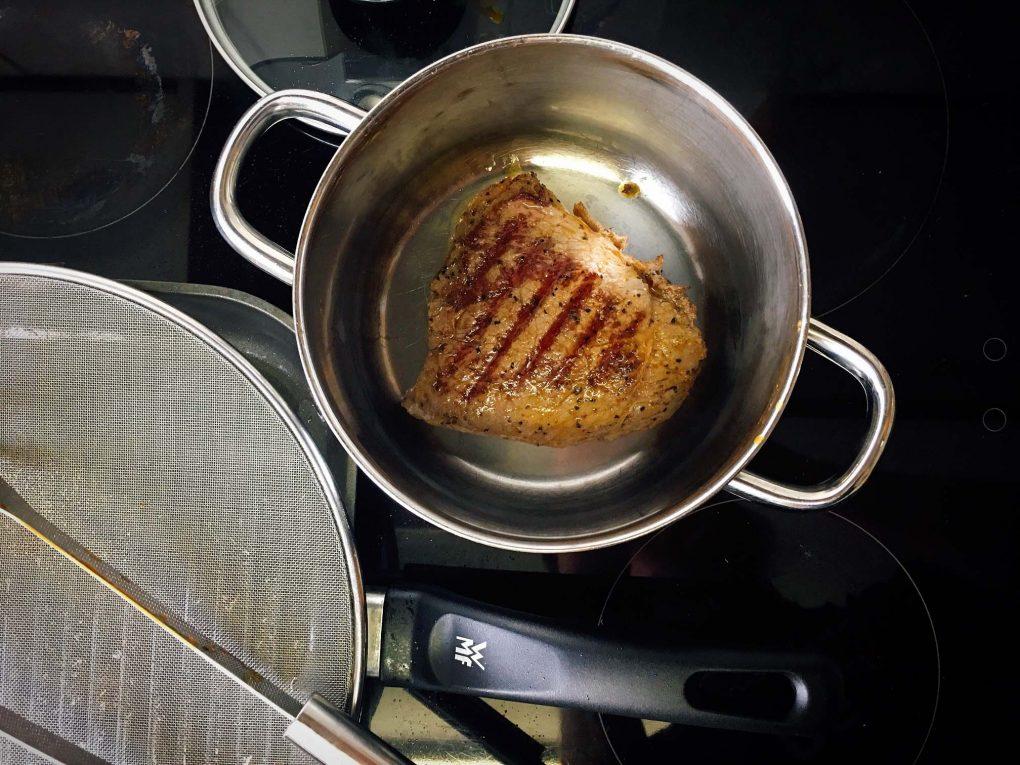 Steak ruhen lassen