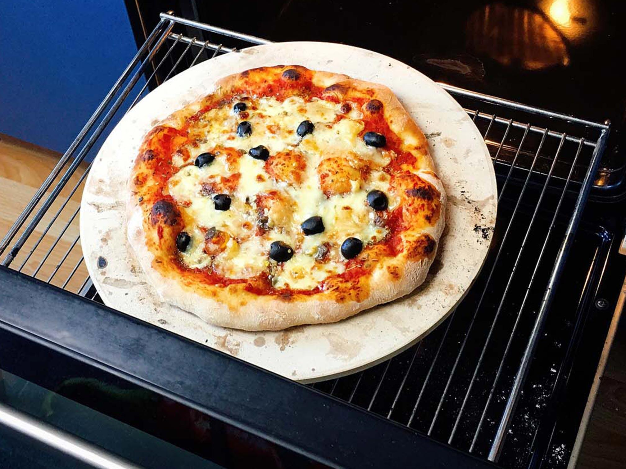 Pizzastein