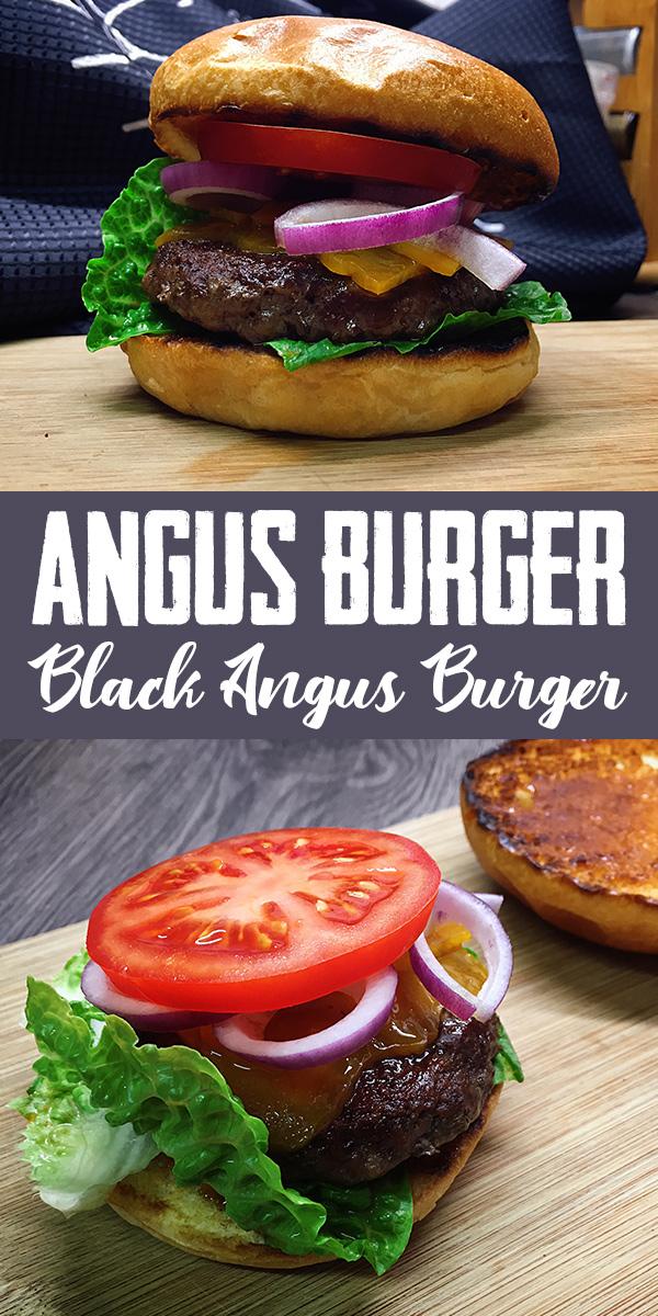 Angus Burger Rezept