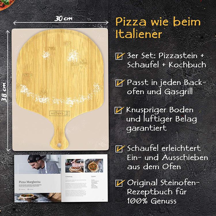 Pizza wie beim Italiener